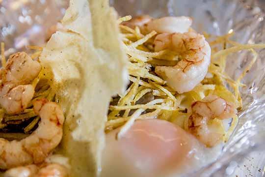 Restaurante Biloba Granada | Biloba con gambones